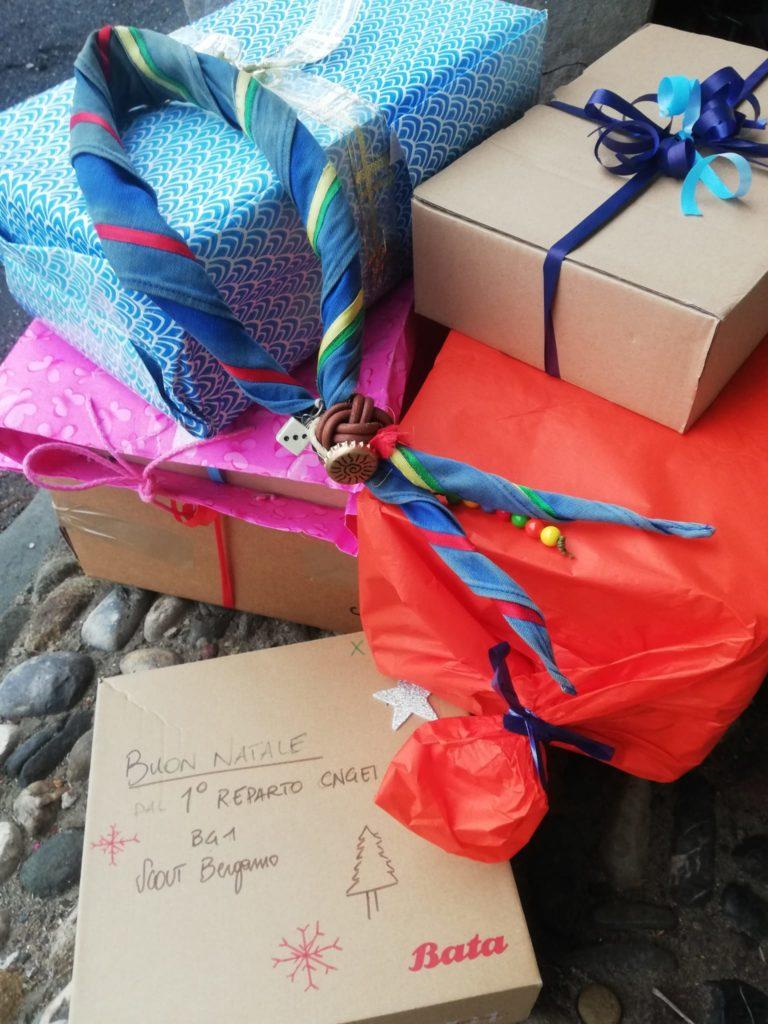 Scatole di Natale 2020: raccolti 4500 pacchi a Bergamo!